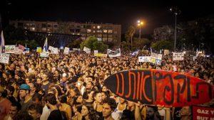 מחאת הגז כיכר רבין