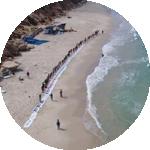 הרחקת אסדת הגז לוויתן מהחוף תצמצם את זיהום הים מהאסדה