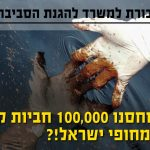 """מכתב להגנ""""ס - מנעו מנובל אנרג'י לאשר חיבור ל- FSO לאחסון 100,000 חביות קונדנסט לצד אסדת לוויתן!"""