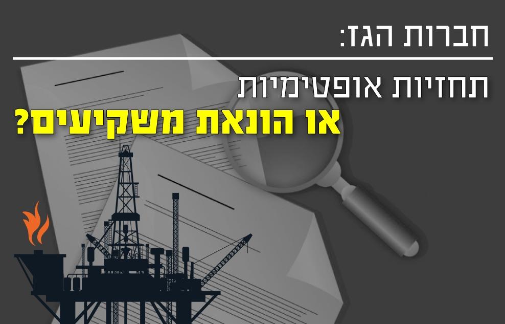 חברות הגז - תחזית אופטימית או הונאת משקיעים
