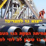 ייצוא גז למצריים? מצרים מפחיתה הפקת הגז הטבעי בגלל עודפי גז שאין לה למי למכור