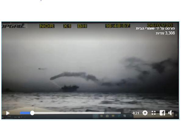 נישוב אסדת לוויתן - פליטות מזהמים