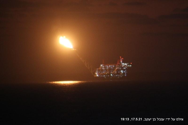 17.5.21 הדלקת לפיד בלוויתן. להבה גודלה יוצאת דופן.