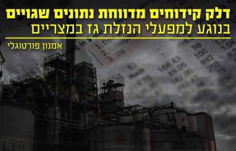 ייצוא הגז למצריים? דלק קידוחים מדווחת נתונים שגויים גם בנוגע למפעלי ההנזלה במצריים